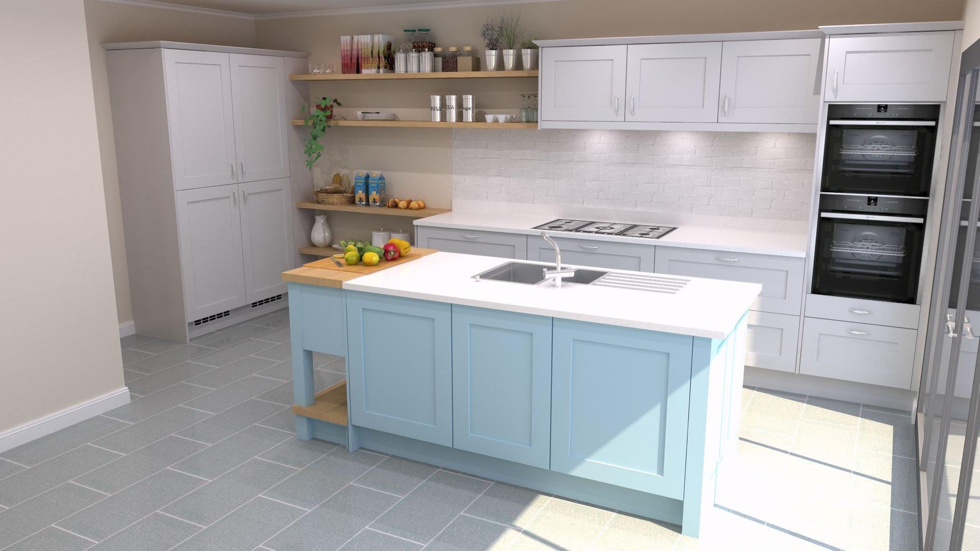 CGI Rendering of Kitchen